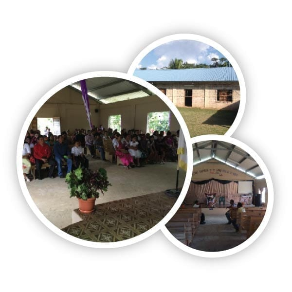 Some images of the congregation in Belize assisted - Christ Community Church The Pentecostals - Henderson, TN
