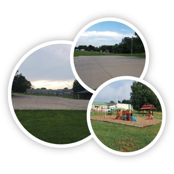 new parking lot and playground - Christ Community Church The Pentecostals - Henderson, TN