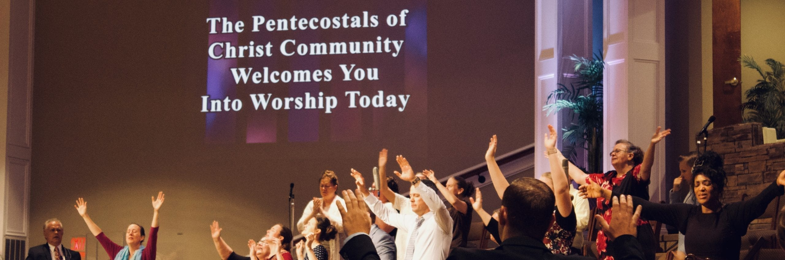 people worshiping in the sanctuary - Christ Community Church The Pentecostals - Henderson, TN