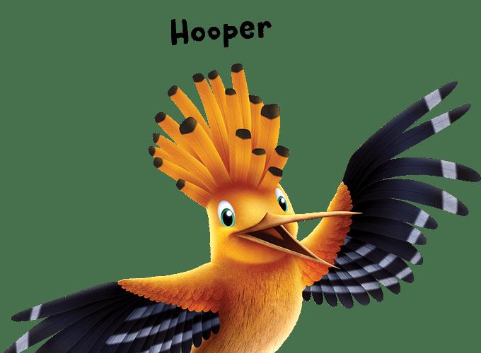 Hooper the bird Roar Vacation Bible School - Christ Community Church The Pentecostals - Henderson, TN