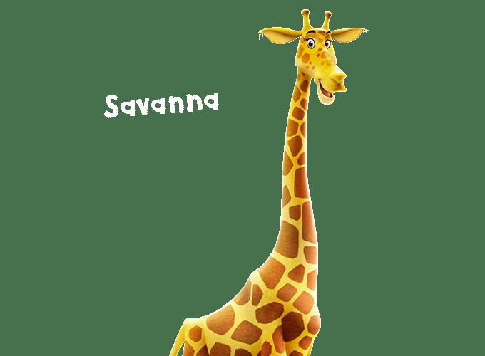 Savanna the giraffe Roar Vacation Bible School - Christ Community Church The Pentecostals - Henderson, TN