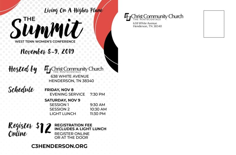 West Tennessee Women's Conference at Christ Community Church The Pentecostals - Henderson, TN